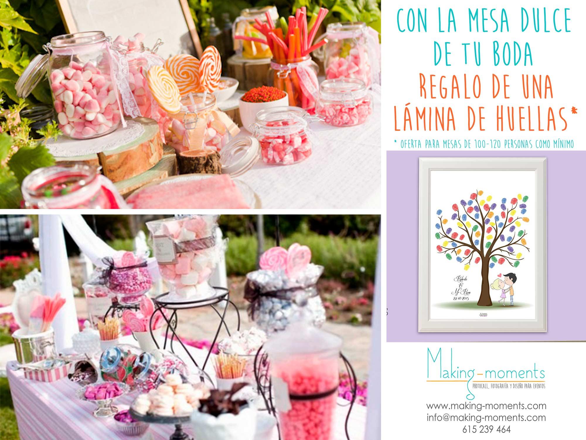 Mesas dulces making moments for Mesas de dulces para bodas precios